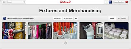PVC Fixtures and Merchandising on Pinterest