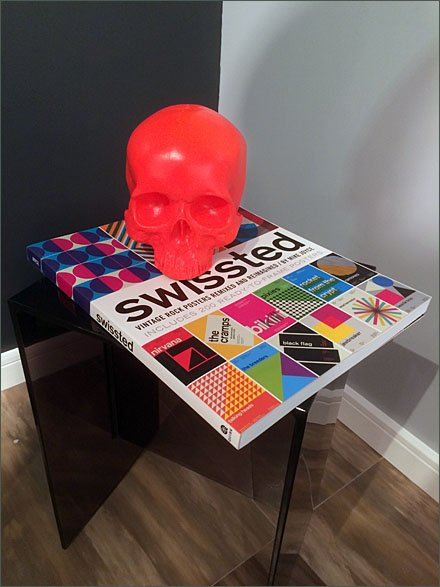 Skull and Swissted Rock Posters