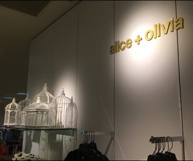 Alice and Olivia Birdcage Aux