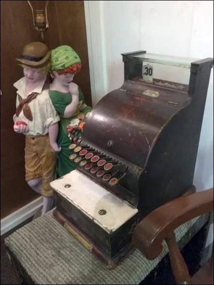 Antique Cash Register Engagement