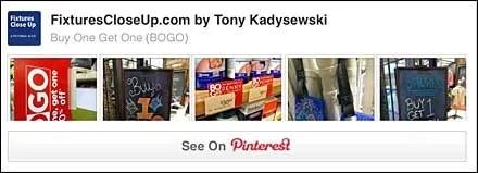Buy One Get One BOGO Pinterest Board