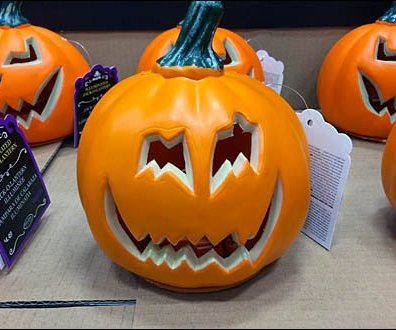 Pre Carved Pumpkin
