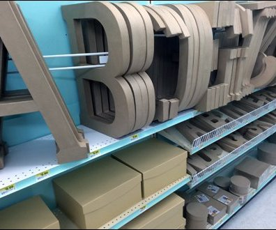 Declioned Alphabetic Shelf Fencing 1