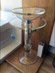 Glass Pedestal Merchandises Itself