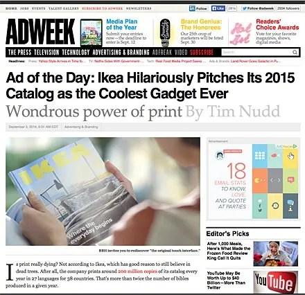 IKEA New Catalog Ad Campaign