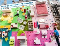 Rock Climbing IKEA Furnishings - Images Courtesy of AdWeek and IKEA, France