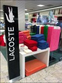 Lacoste Crock Takes a Stand