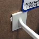 LockTite® Table Topper Corrugated Hook Detail