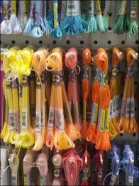 Narrow Gauge Multi-Hook For Yarn and Thread