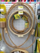 Oval Hoops Hooked on Pegboard Front Main