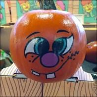 Painted Pumpkin Promo CloseUp