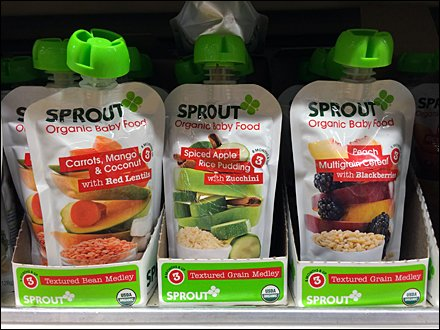 Sprouts Brand Sprouts Pouches
