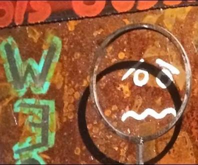 Street Art Restroom Directionals