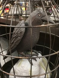Crows in Cages for Halloween 1