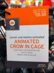 Crows in Cages for Halloween Aux