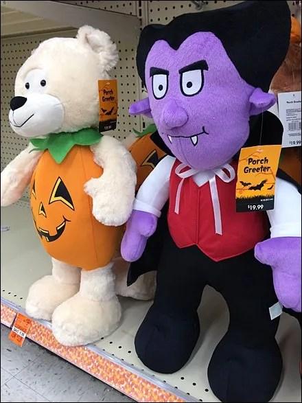 Halloween Plush Contrasts Aux