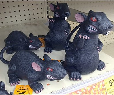 Halloween Rats Rampage In-Store