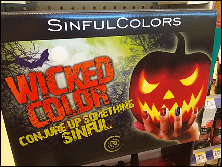 Sinful Wicked Halloween Nail Color