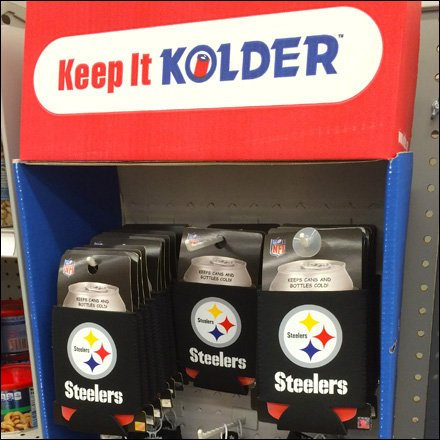 Steelers Kolder PowerWing Merchandising