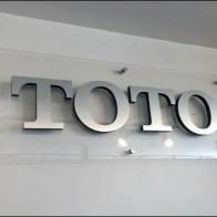 ToTo Logo Silhouette on Acrylic Main