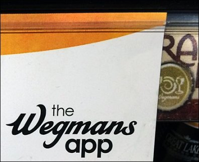 Wegman's Shopping App Grip Clip CloseUp