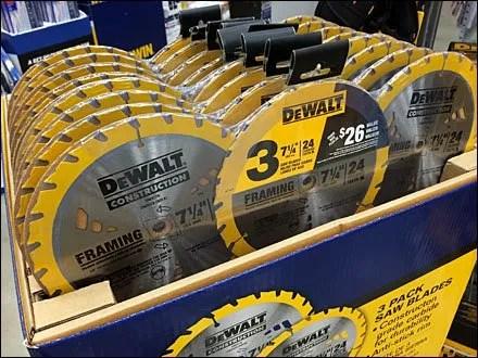 DeWalt Saw Blade 3-Pack Aux