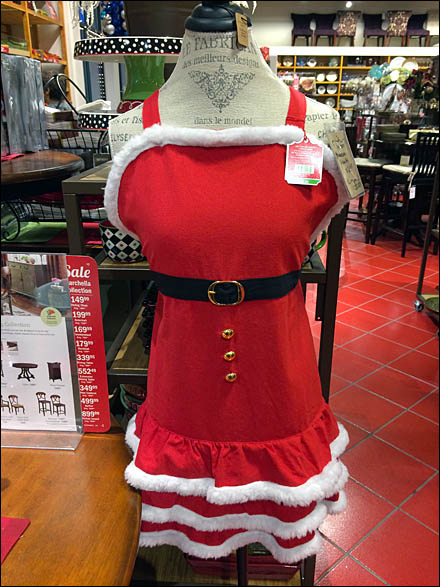 Dress Form Christmas Frenchy Aux