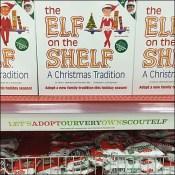 Target Xmas Elf-On-The-Shelf