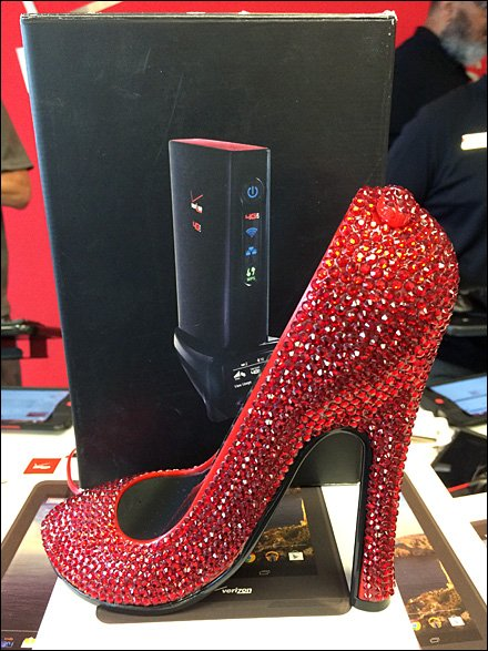 High-Fashion, High-Tech, High Heel Telephone