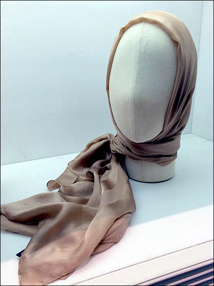 Fabric Headform Italian Style