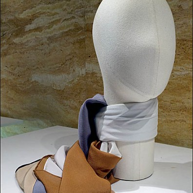 Fabric Headform Scarf Tie Main