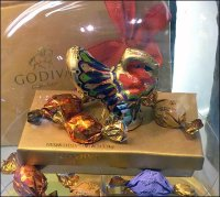 Godiva Chocolate Turkey Bell Jar