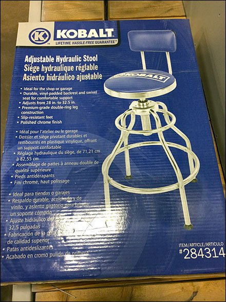 Remarkable Kobalt Branded Seat Try Me Fixtures Close Up Machost Co Dining Chair Design Ideas Machostcouk