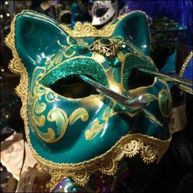 Masquerade Ball Masks Slatwall Hooked 2