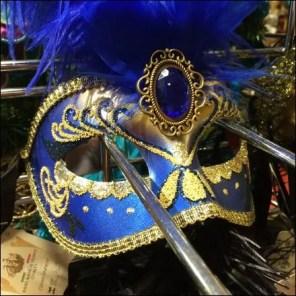 Masquerade Ball Masks Slatwall Hooked 7