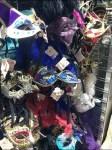 Masquerade Ball Masks Slatwall Hooked Aux