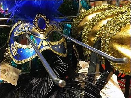 Masquerade Ball Masks Slatwall Hooked Main