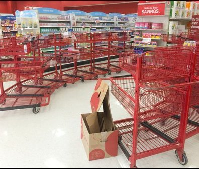 Midnight Shopping Run Cart Circle Main