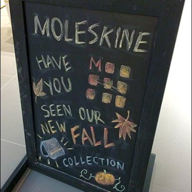 Moleskine Fall Collection Chalkboard