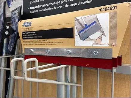 Scraper Station Utility Hook Literature Holder 1