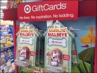 Target Bullseye Bobble-Head Branding