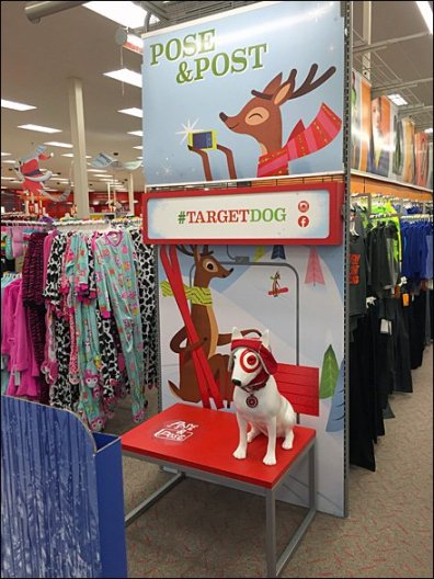 Target Dog Photo Opp 2