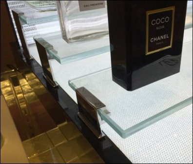 Chanel Bridged Glass Display 2