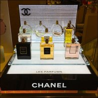Chanel Bridged Glass Display Aux