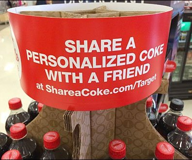 Coke Corrugated Carousel