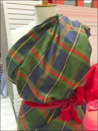 Flannel Dress Form Sari 3