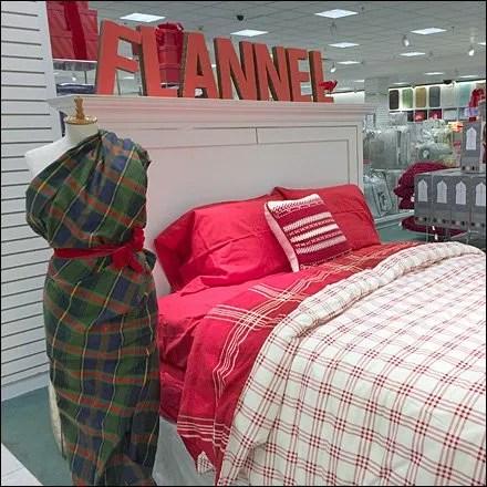 Flannel Sari Says Winter Fixtures Close Up