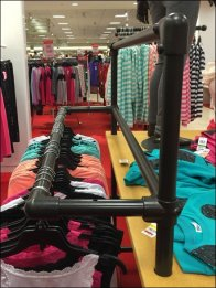 Kee Klamp Outrigger Clothes Rack 2