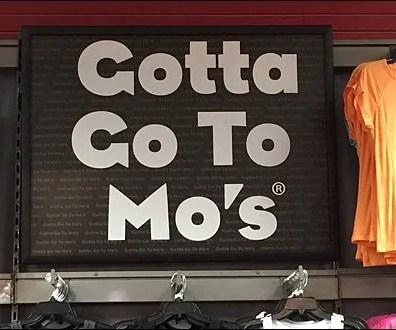 Modell's Gotta Go To Mo's CloseUp