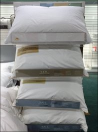 Declined Pillow Display Bracing